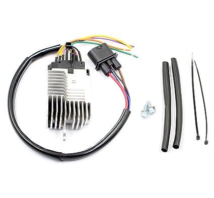 amazon com: goodeal radiator cooling fan control module 8e095-9501ag fit  audi a4 quattro a4: automotive