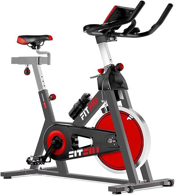 Sg - Bicicleta Spinning Regulable 24Kg por Correas: Amazon.es ...