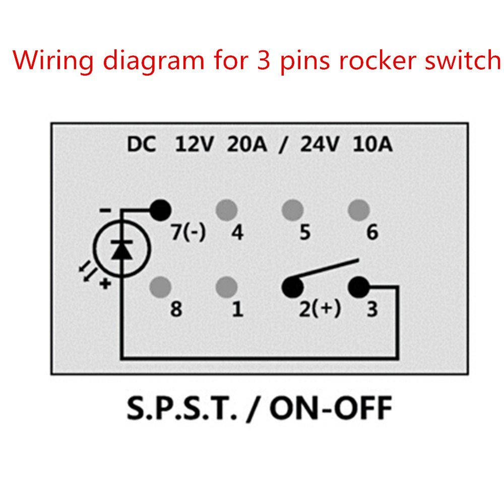 Iztoss Dc 12 24v 42a Car Auto Boat Dual Usb Charger Volemeter 12v 3 Pin Plug Wiring Diagram Socket With