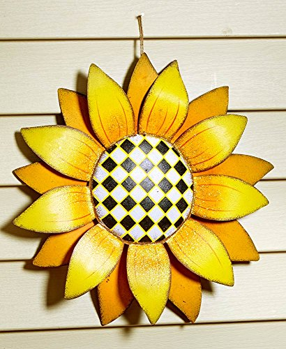 The Lakeside Collection Sunflower Wall Hangings- Solid Petals