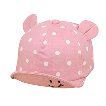 Amazon Sukeq Cute Infant Kids Dot Print Baseball Hat Boys Girls