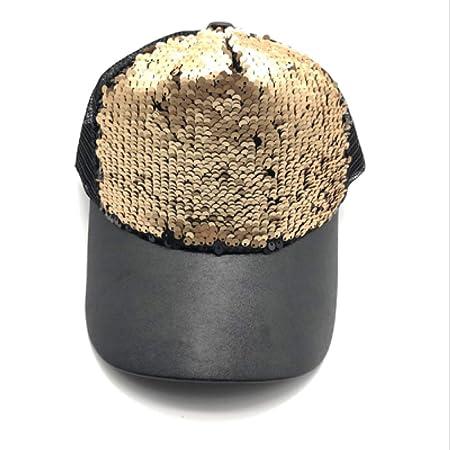 kyprx Sombreros de Sol para Hombres Gorras de béisbol de Sol para ...