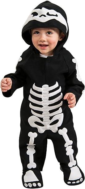 Amazon.com: Disfraz de esqueleto Rubie s, mameluco ...