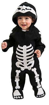 72e295415d33 Amazon.com  Rubie s Costume Baby Skeleton Romper Costume  Clothing
