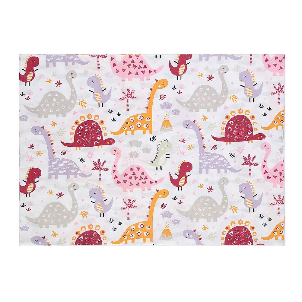 13x18 Small Pillow Kids Toddler Pillowcases 2 Packs 100/% Cotton 14x19 Fits Toddler Bedding Pillow 14x19 Pink Dinosaurs