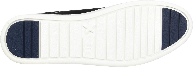 MARCO TOZZI 2-2-23774-33, Scarpe da Ginnastica Basse Donna Blu Navy Patent 826