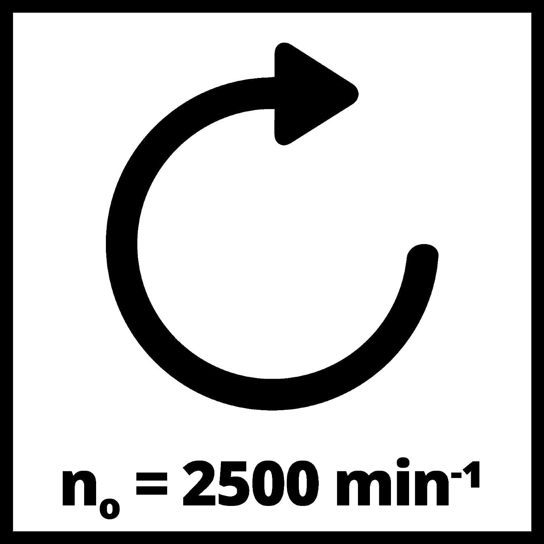 Einhell Akku-Autopoliermaschine CE-CB 18//254 Li Power X-Change Li-Ion, 18 V, 2.500 min^-1, /Überlastschutz, inkl. 1x Textil-Polierhaube, 1x Synthetik-Polierhaube, 2,5 Ah Akku und Ladeger/ät