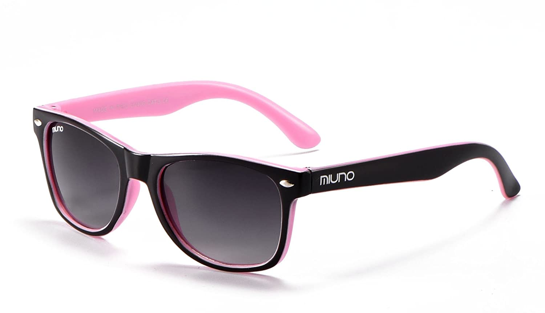 Miuno - Occhiali da sole - ragazza multicolore nero/rosa 6833
