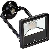Foco LED exterior de Collingwood | Lámpara resistente al agua con rotación de 360° y ángulo de inclinación de 180…
