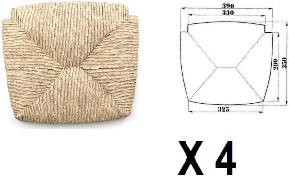Sedute impagliate (mod. 1212 venezia) Ricambi per sedie [Set di 4]