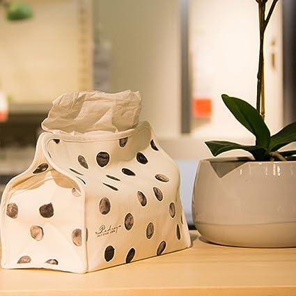 shanzhizui Arte de tela Conjuntos de toallas de papel caja de pañuelos sala Sala de estudio