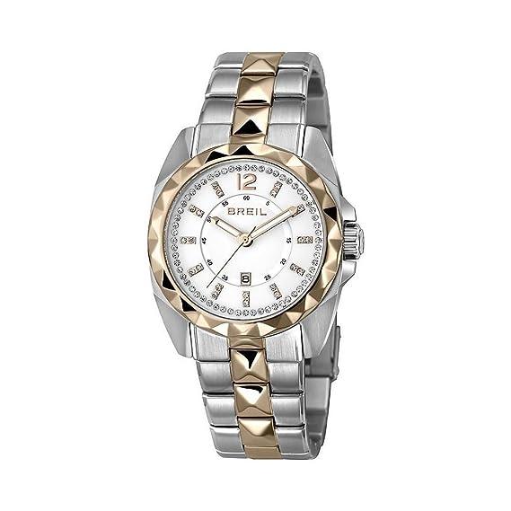 ORIGINAL BREIL Reloj BRIGHT Swarovski Mujer Acero, IP Rosa Sólo el tiempo - TW13: Amazon.es: Relojes