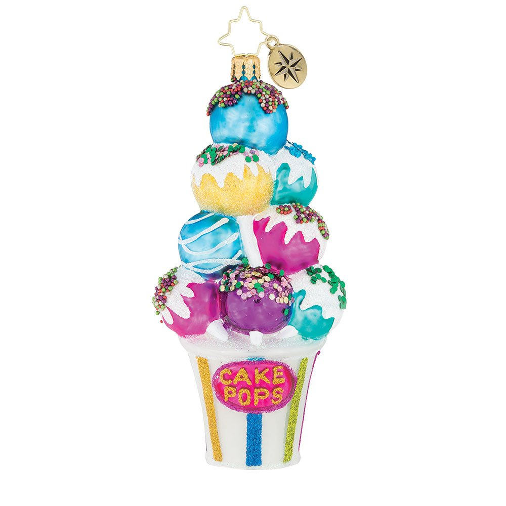Christopher Radko We'll Stick With Cake! Christmas Ornament
