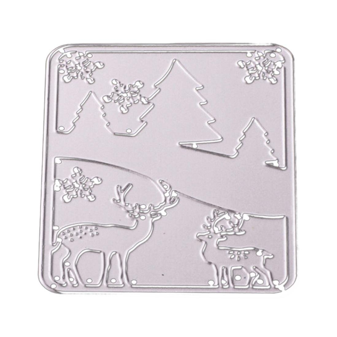Clearance!VESNIBA Metal Dies Cut Cutting Die for Cards Making Butterfly Metal Embossing Stencils for DIY Craft
