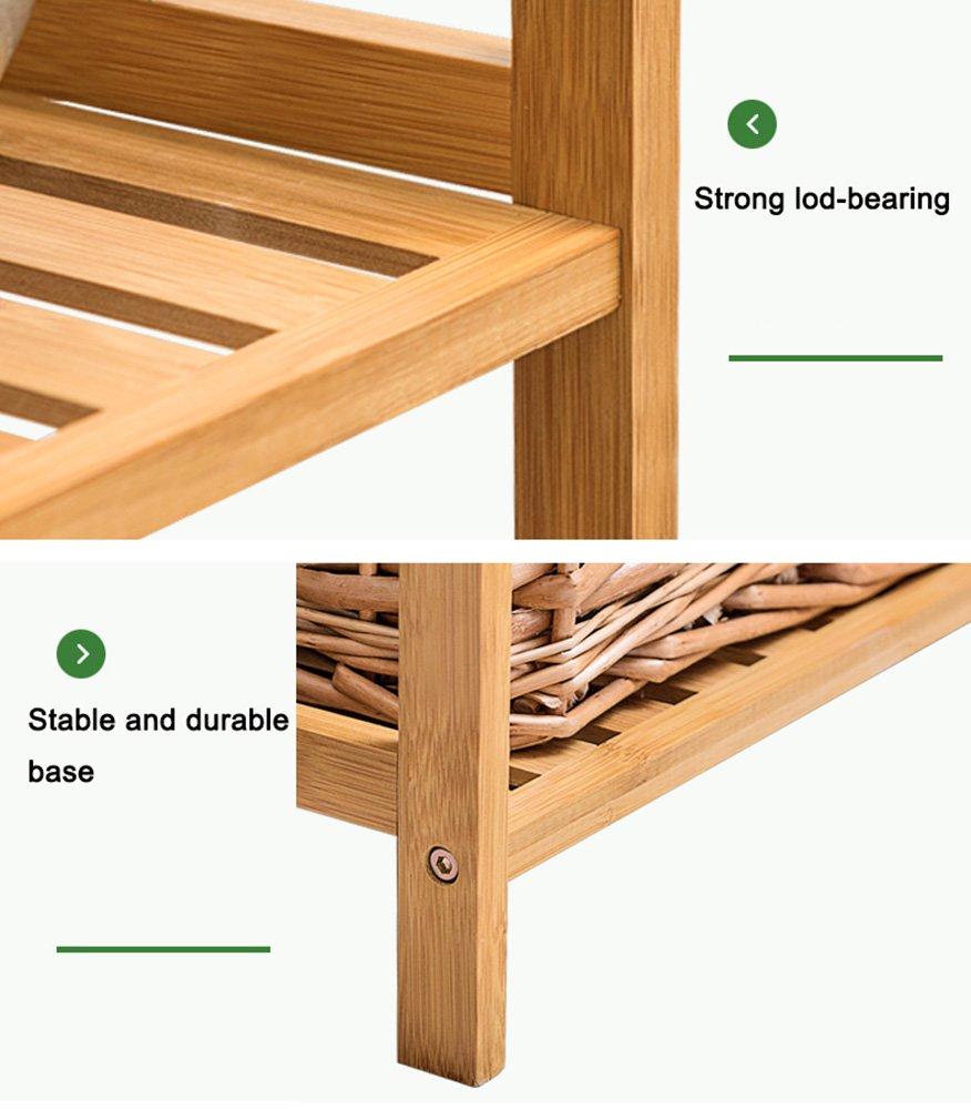Amazon.com: Rack de almacenamiento soportes de piso cuarto ...