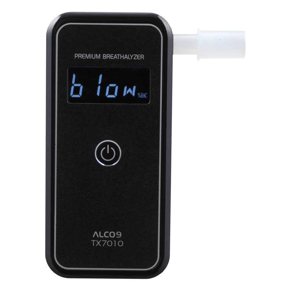 Amazon.com: ALCO9 TX7010 Breathalyzer Portable Breath Alcohol Tester Detector with LCD Display: Health & Personal Care