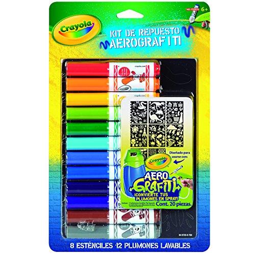 Crayola Airbrush Marker Stencil Pack