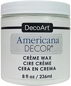 DecoArt AmerDecorCremeWax Americana Decor Creme Wax 8oz White