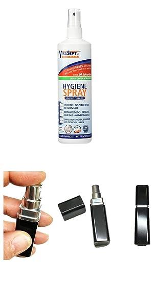 Vibasept Af Hygiene Desinfektionsspray 250 Ml Plus Glasbehalter