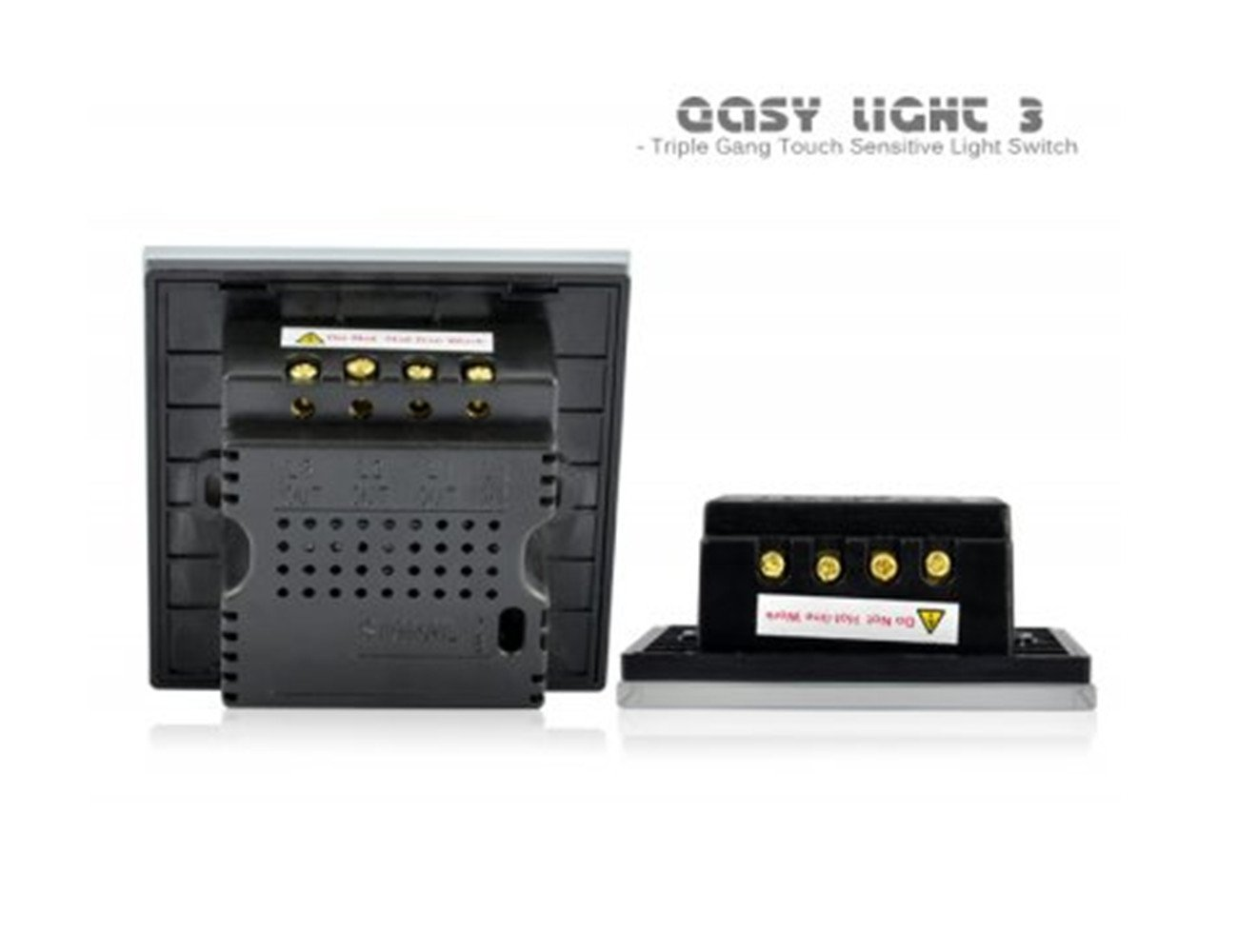 Touch Sensitive Light Switch Easy 3 Hcw Triple Gang Wall