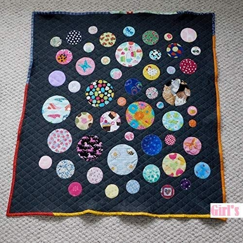 Baby Quilts - Handmade Baby Quilts - Custom Baby Blanket - Throw Blanket - Wheelchair Lap Blanket - Pet Blanket (I Spy Girls)