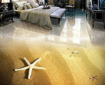 3d Fußboden Fürs Badezimmer ~ Kuamai d bodenbeläge pvc wasserdicht benutzerdefinierte strand