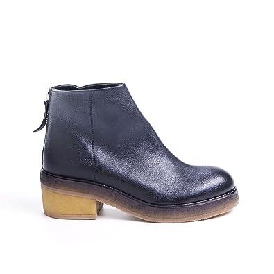 HALMANERA Women's Boots black Size: 5