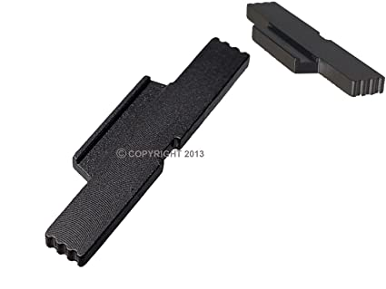 NDZ Performance for Glock Gen 5 Black Extended Lock Lever 17 19 19x 25 34