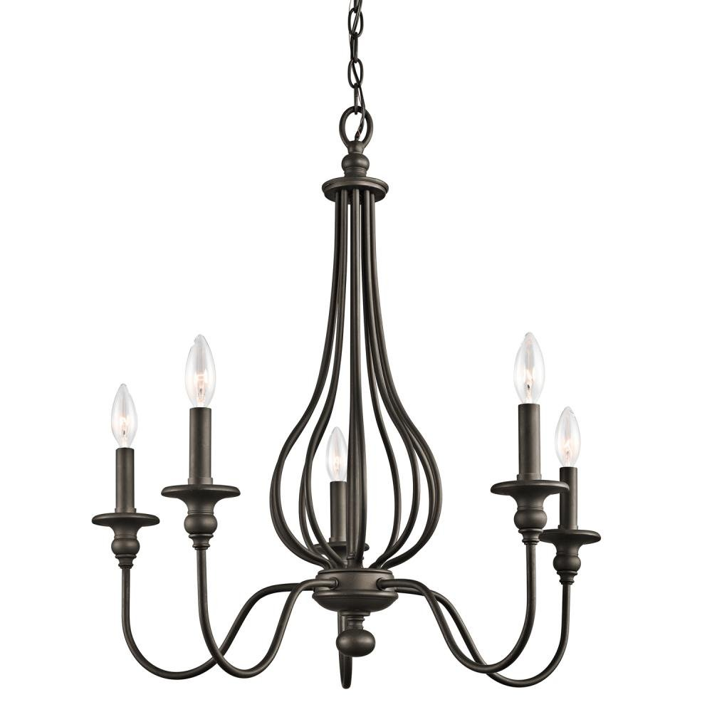 Kichler 43330OZ, Kensington, 5LT Incandescent, Olde Bronze by Kichler Lighting