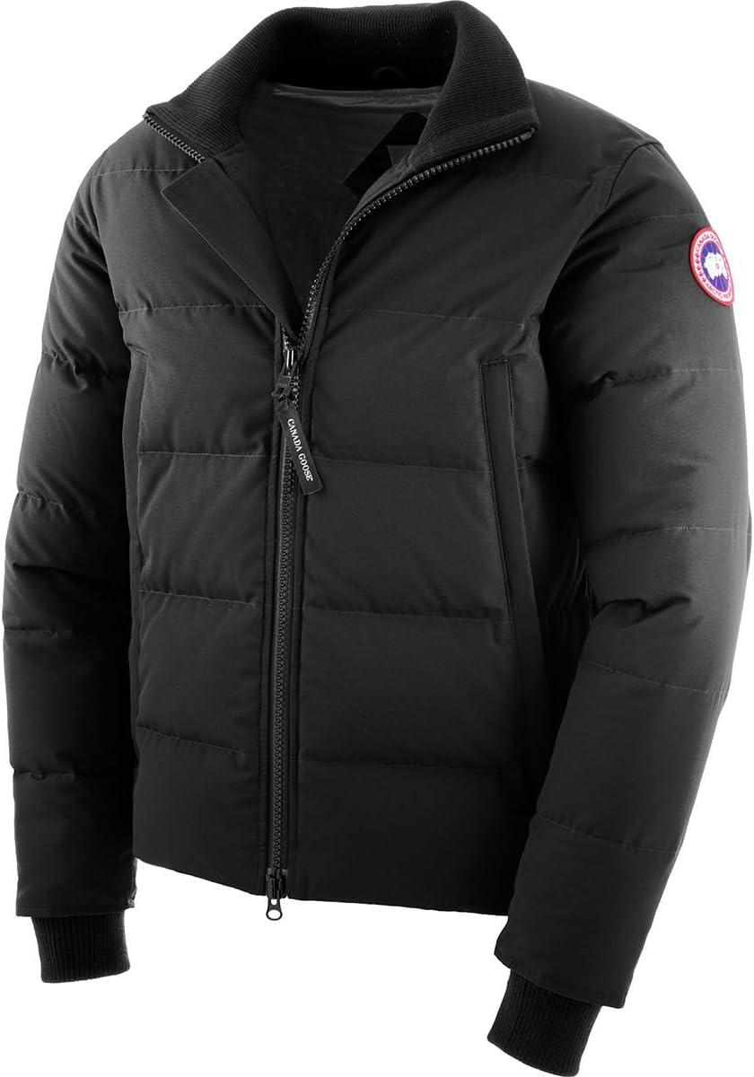(カナダグース)Canada Goose Woolford Down Jacket メンズ ジャケット黒 [並行輸入品] 黒 日本サイズ L相当 (US M)
