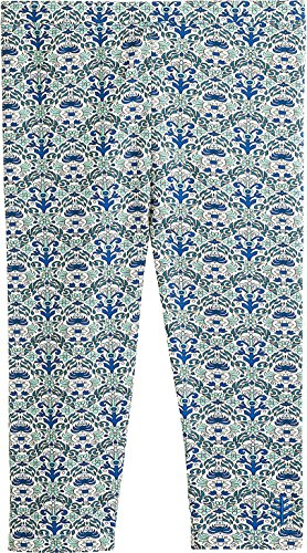 - Coolibar UPF 50+ Girls' Summer Capris - Sun Protective (X-Small- Brilliant Blue Tapestry)