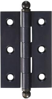Deltana CH2015U10B Solid Brass 2-Inch x 1-1/2-Inch Cabinet Hinge ...
