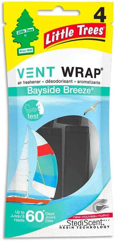 Little Trees Vent Wrap Car Air Freshener (Bayside Breeze)