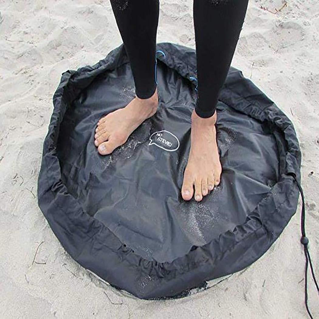 Wuyiti Wasserdichte Badeanzug-Aufbewahrungstasche für den den den Strand, platzsparend, Polyester, Schwarz, 130 cm B07PDG442B Vakuum-Platzsparer 17fe03