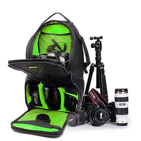 WUZHENG Estuche para cámara Sling Backpack para Nikon Canon Sony y ...