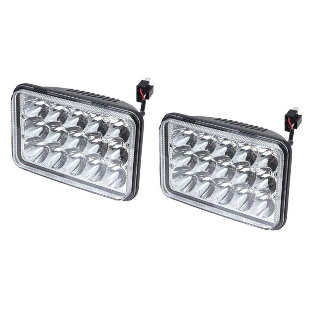 4x led headlamps for fld120 kenworth t800 t400 t600 w900b. Black Bedroom Furniture Sets. Home Design Ideas