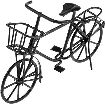 Amazon.es: 1:12 Escala Mini Modelo de Bicicleta de Metal en ...
