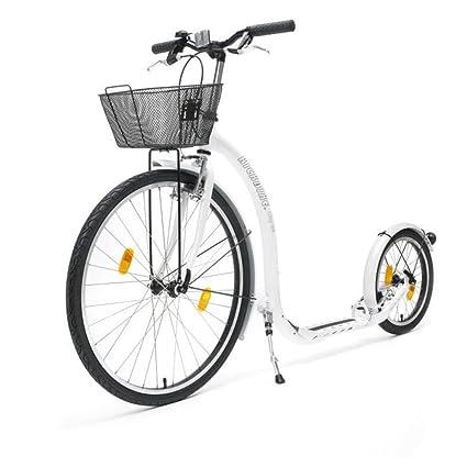 Kickbike City G4 - Patinete para ciudad, incluye cesta ...
