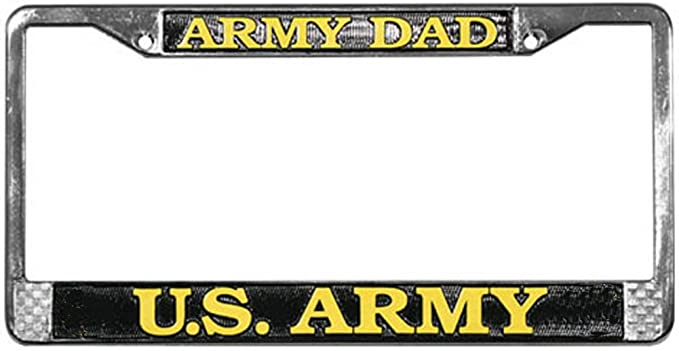 PROUD MARINE MOM Soldier Military ENGRAVED license plate frame Engraving