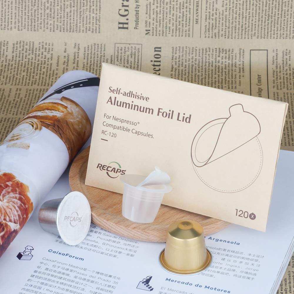 Amazon.com: RECAPS - Tapas de expreso de aluminio ...