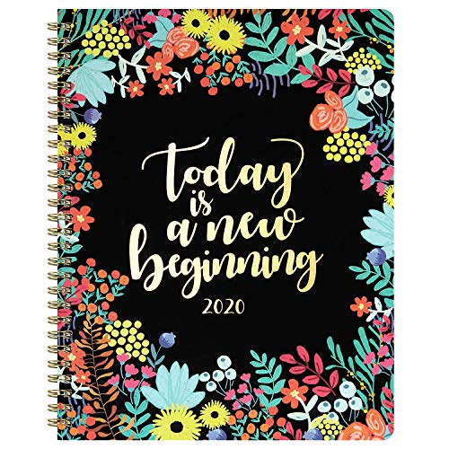 "2020 Planner - Planner 2020, Weekly & Monthly Planner with to-Do List, 8"" x 10"", Jan. 2020 - Dec. 2020, 12 Monthly Tabs Stickers, Twin Wire Binding Perfect for Planning Your Home or Office"