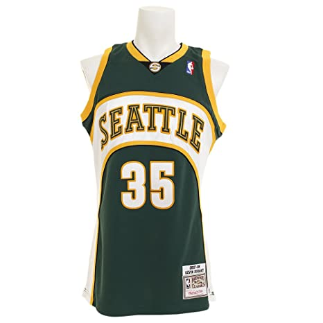 Mitchell   Ness Kevin Durant Seattle Supersonics NBA Men s 2007-08 Authentic  Jersey (Small 31fa0e134