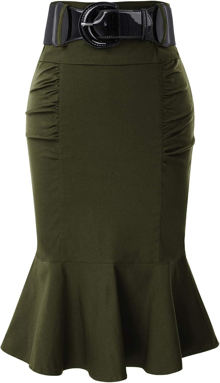 Belle Poque GF627 Gonna da donna vintage anni 50 elegante sirena