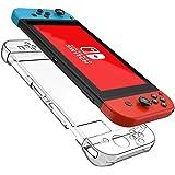 PUBAMALL Funda para Nintendo Switch, Anti-Scratch Hard Case para Nintendo Switch, Crystal Clear Case para Nintendo Switch