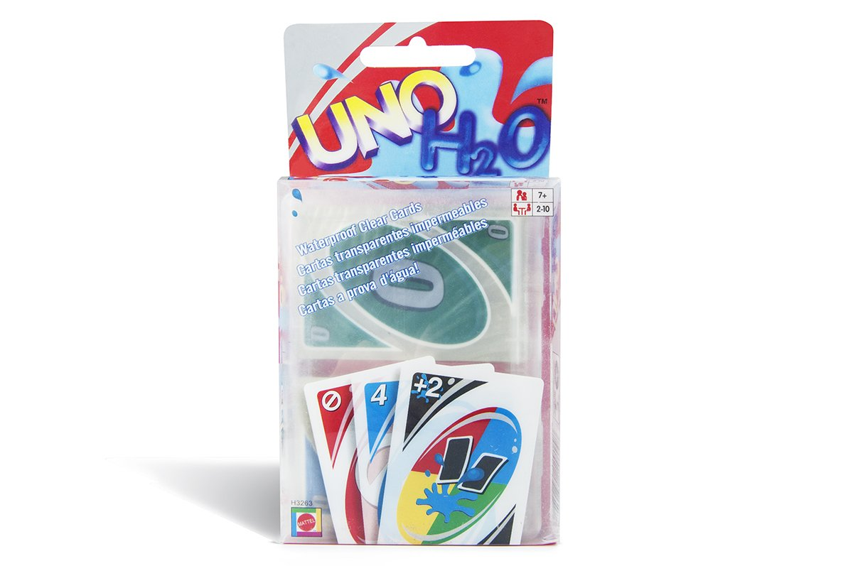 Amazon.com: Generic Plastic Water-proof UNO Card Game, uno ...
