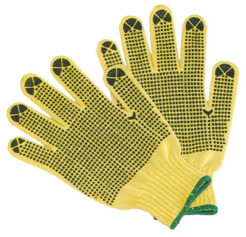Cut Dot (G & F 1670M Cut Resistant Work Gloves, 100-Percent Kevlar Knit Work Gloves, Make by DuPont Kevlar, Protective Gloves to Secure Your hands from Scrapes, Cuts in Kitchen, Wood Carving,)
