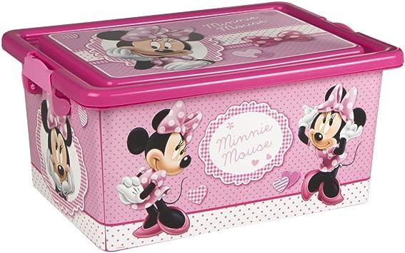 ColorBaby - Caja ordenación 13 litros, diseño minnie mouse (76608 ...