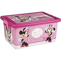 ColorBaby - Caja ordenación 13 litros, diseño minnie