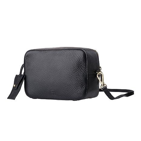 Mini Bag y Cremallera suave Piel DUDU mujer zip con Bolso Pequeña de 4dwqaB6x