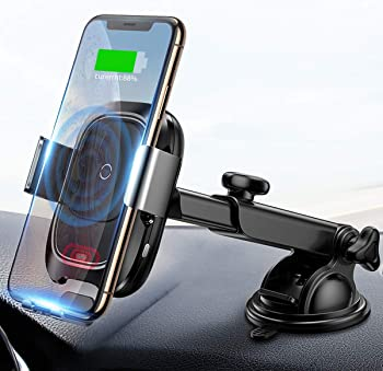Baseus 10W Automatic Infrared Wireless Car Charger Mount